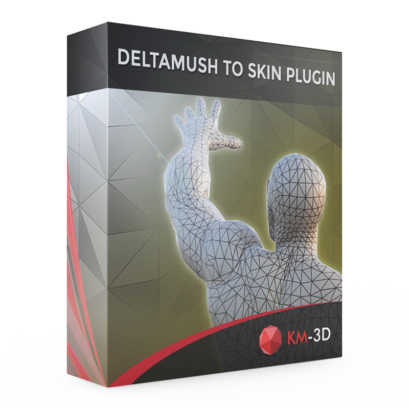 DeltaMush to Skin plugin   KM-3D COM